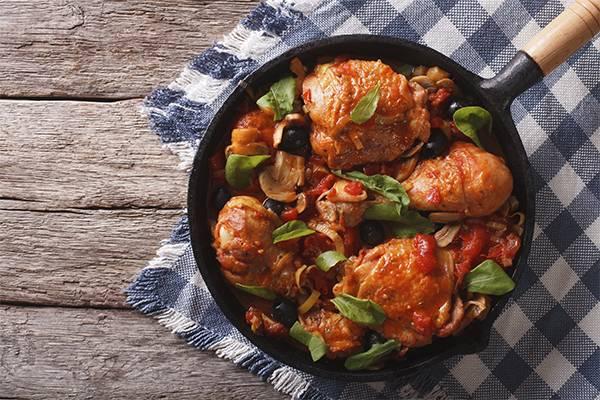 Pata muslo de pollo informacion nutricional